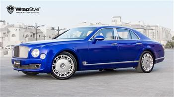Bentley Mulsanne - Blue metallic