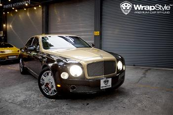 Bentley Mulsanne - Wrapping Pyrite Oracal