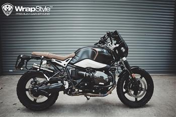 BMW RnineT - Wrapping Satin Black