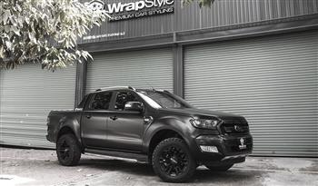 Ford Ranger - Wrapping Satin Black Avery