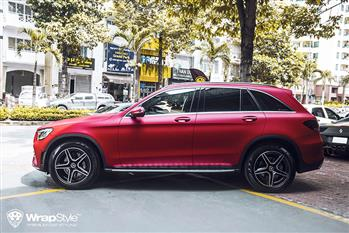 Mercedes GLC 300 - Red Matt - Full Wrapping