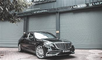 Mercedes S450 - Gloss Black Avery