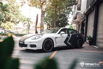 Porsche Panamera - Customized Wrapping