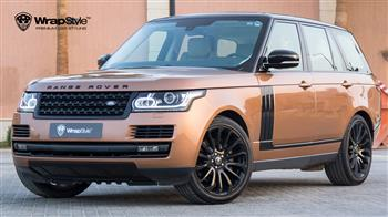 Range Rover HSE - Orange metallic