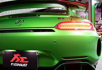 MERCEDES-BENZ GT R EXHAUST
